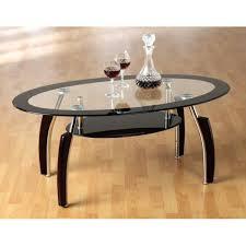 Table basse ovale