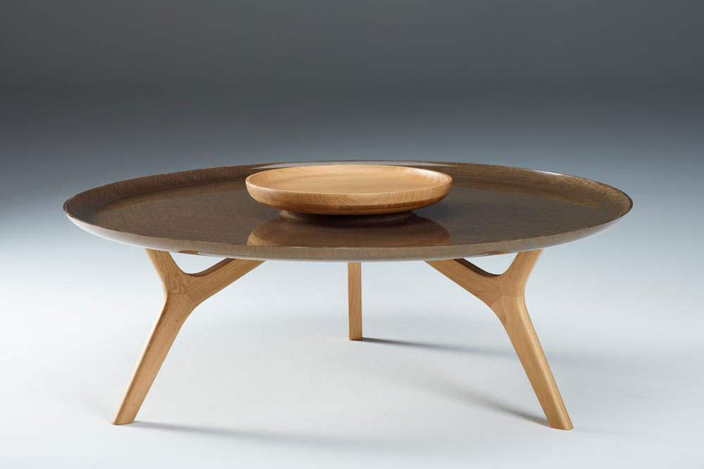 Pourquoi miser sur la table basse ronde en bois - Table basse design ronde ...